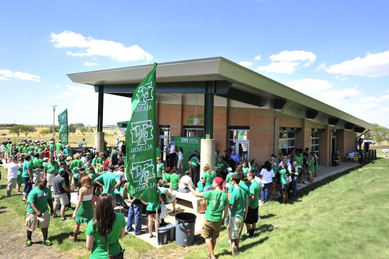 UNT Alumni Center at Apogee Stadium
