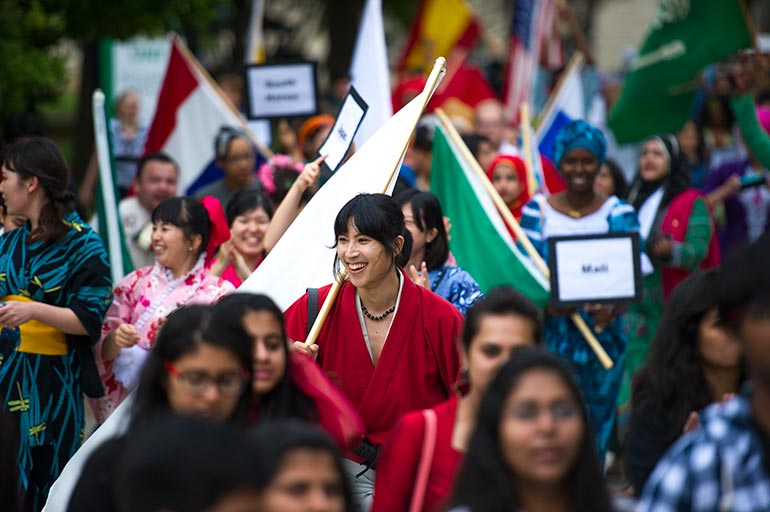 International Day at UNT