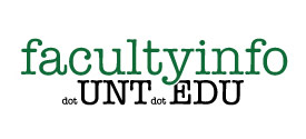Facultyinfo dot UNT dot EDU