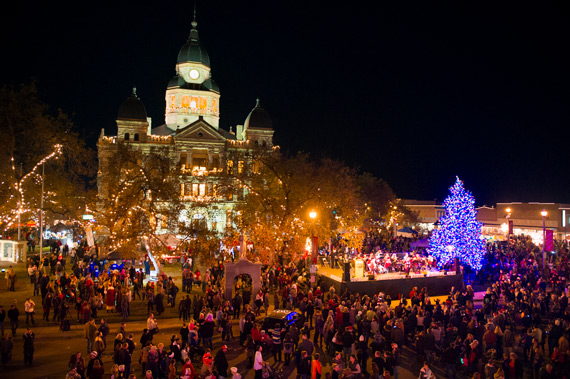 Denton Tree Lighting