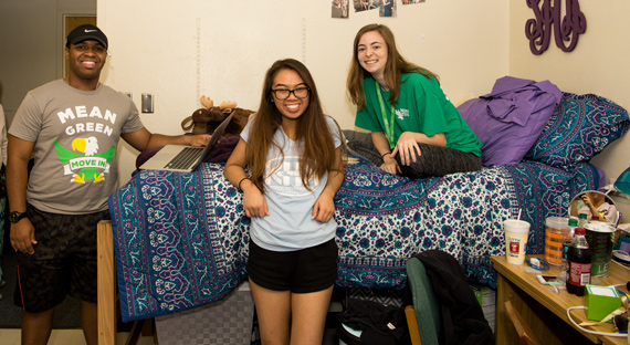 Mean Green Move-In