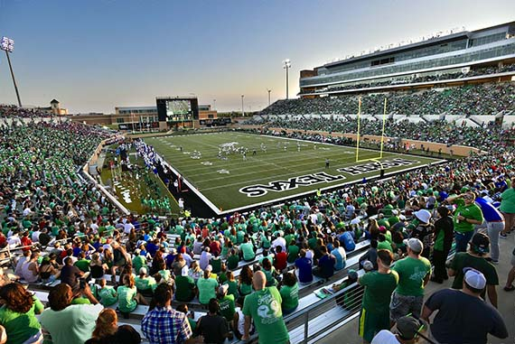Unt Employees Get Free And Discounted Tickets To Oct 8 Mean Green Football Game University Of North Texas