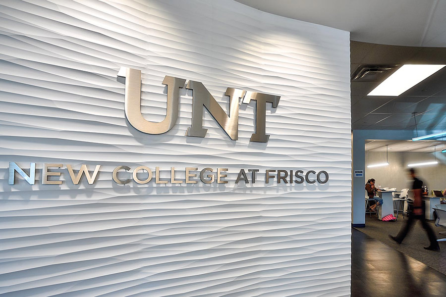 New College at Frisco lobby