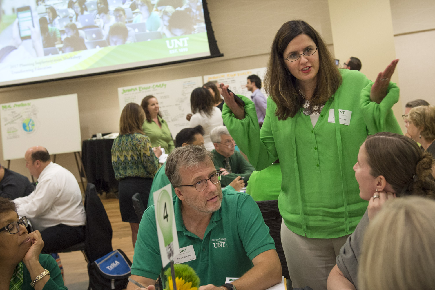 UNT Provost and Vice President for Academic Affairs Jennifer Evans-Cowley