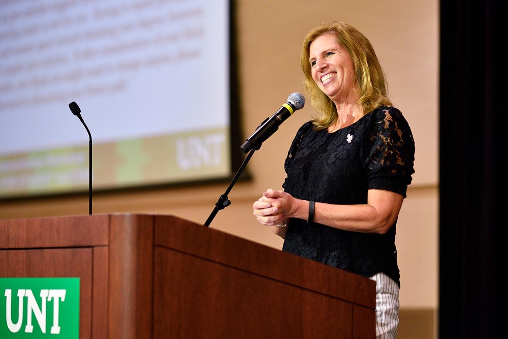 Dr. Debbie Rohwer speaks at the 2019 Planning Implementation Workshop