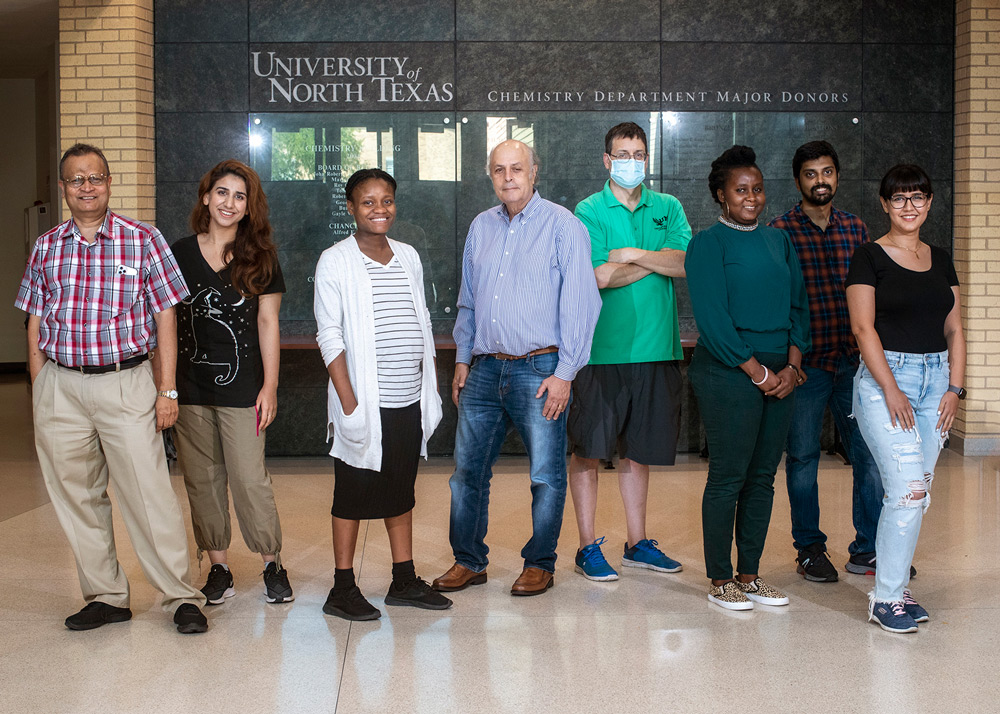 UNT chemistry professors' research could lower greenhouse gases and create economic benefits worldwide
