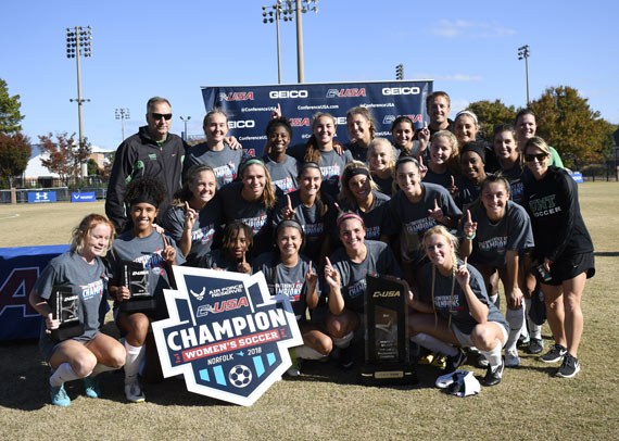 Mean Green soccer wins Conference USA Championship