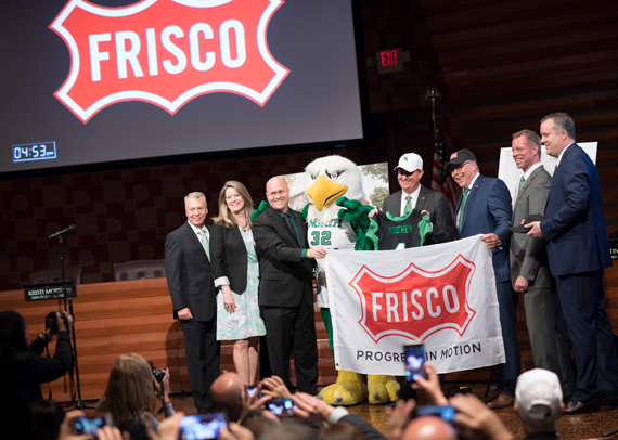 Frisco campus announcement