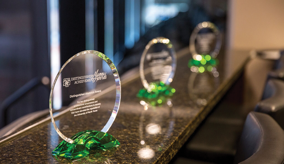 UNT honors distinguished alumni for professional achievements and service to university