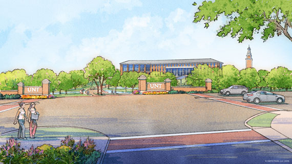Frisco campus rendering