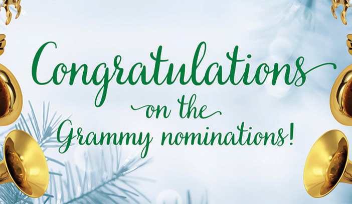 UNT faculty and alumni nominated for Grammy Awards