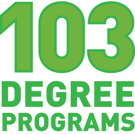 103 degree programs