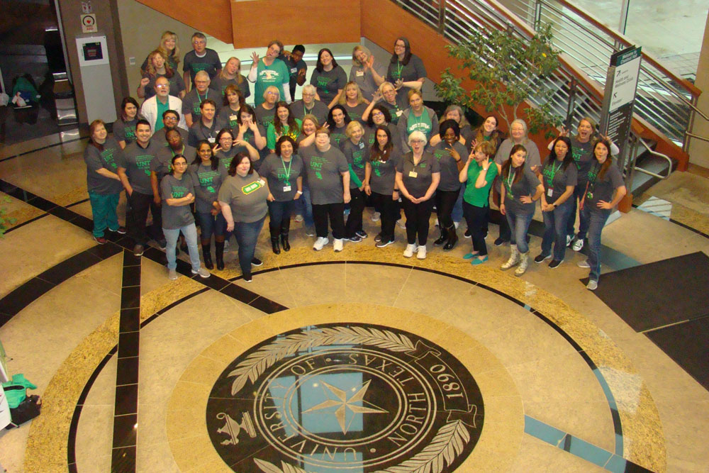 Members of the Student Health and Wellness Center team