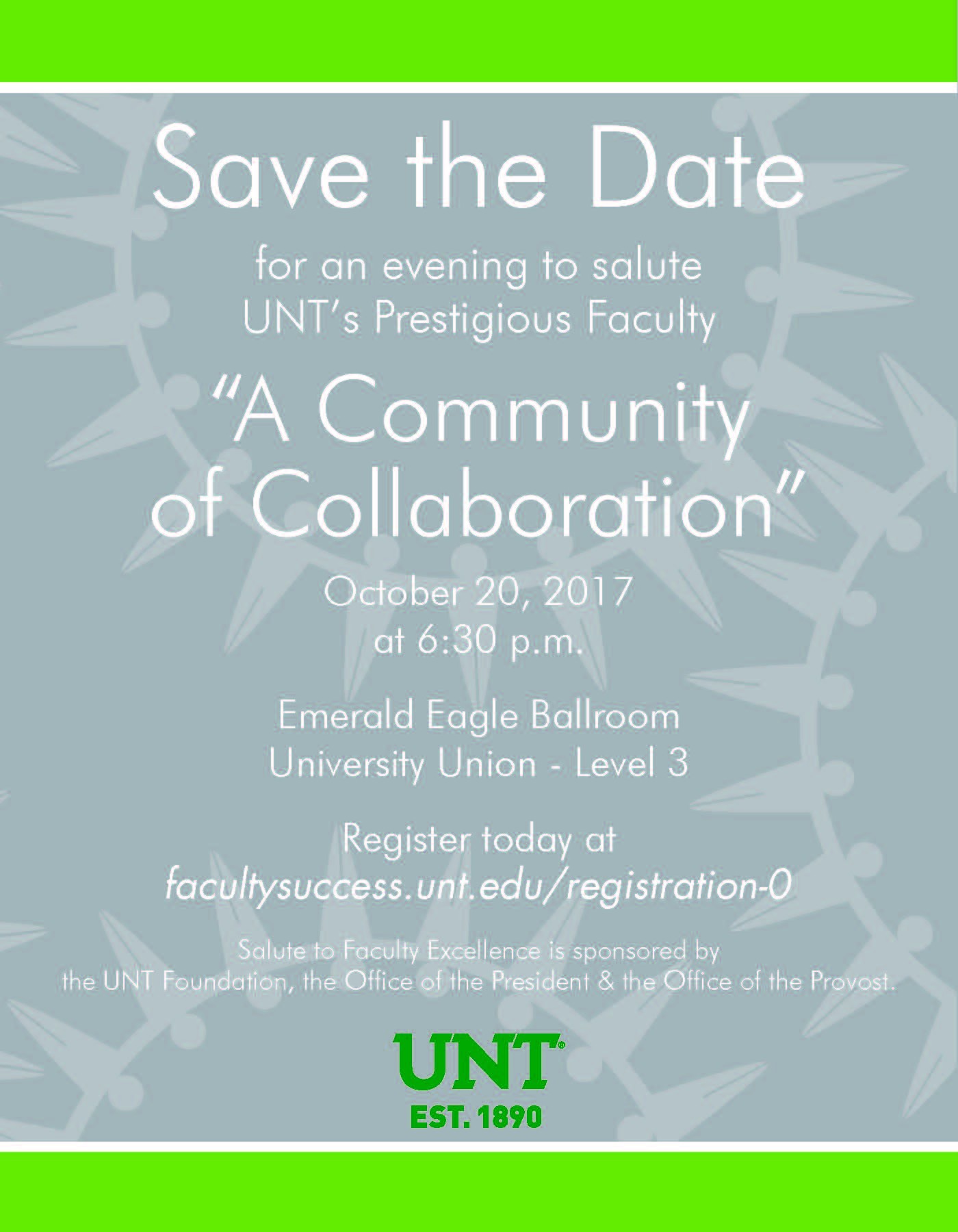 Salute to Faculty Excellence Save the Date