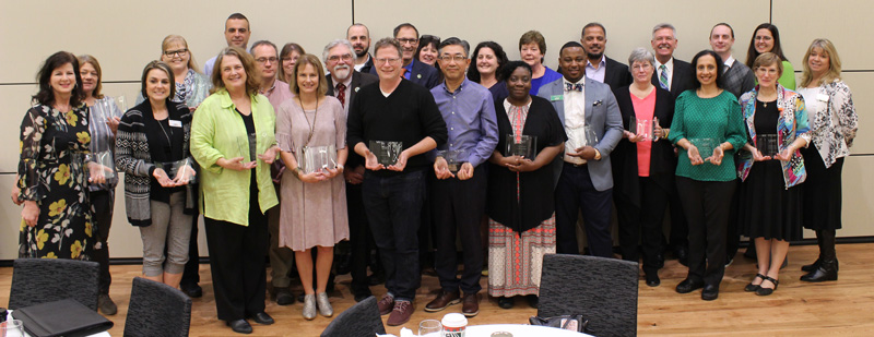 Institutional effectiveness honorees, 2019
