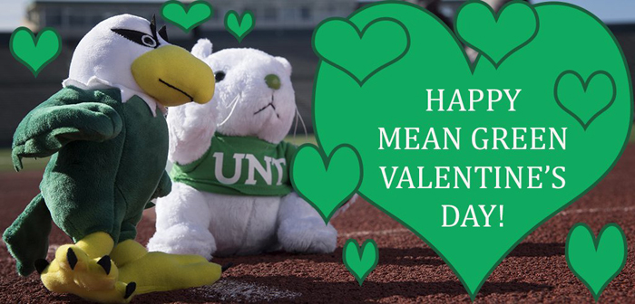 BFFs Scrappy and Lucky love Mean Green Valentine's Day.
