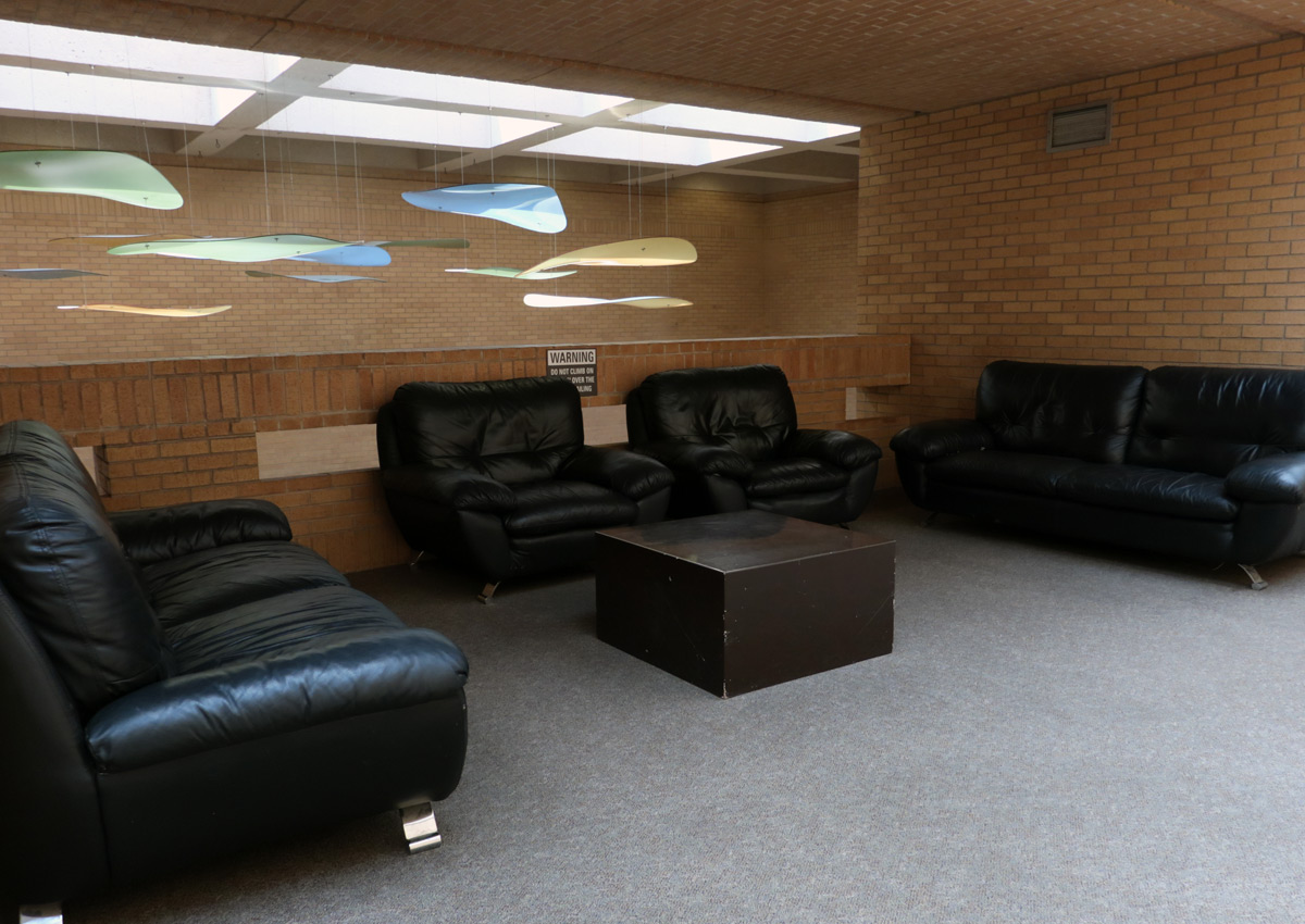 Music Building couches