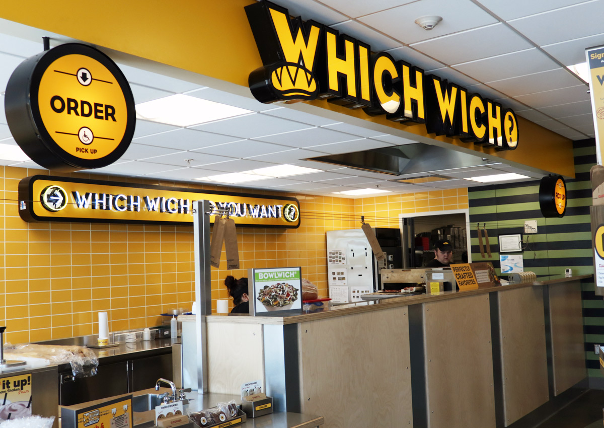 Which Wich at the UNT University Union