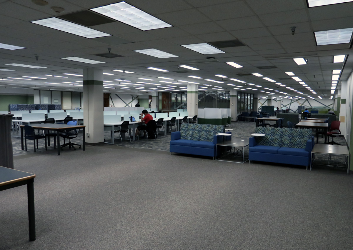 Willis Library Basement