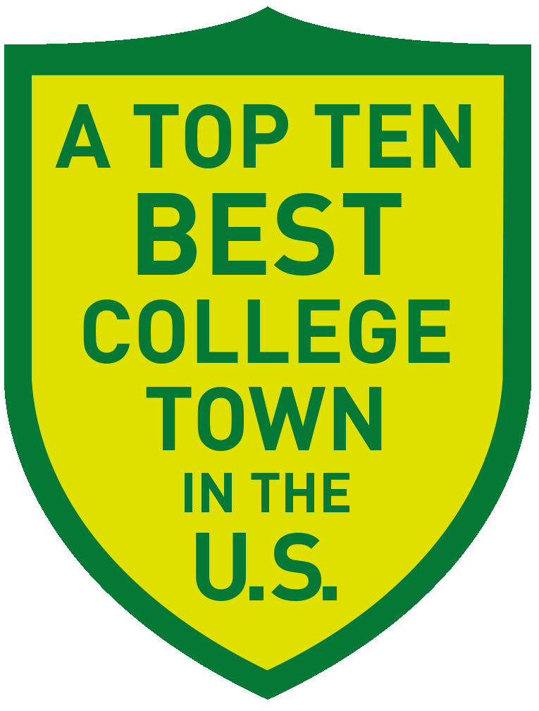 Top 10 Best College Town in U.S.