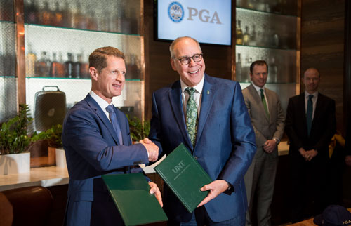 UNT partners with PGA of America