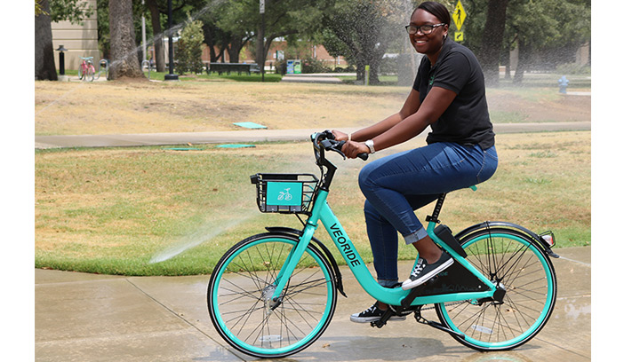 UNT introduces bike share program